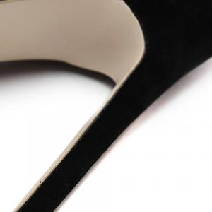 Sexy Flock and Hollow Out Design Pumps For Women -