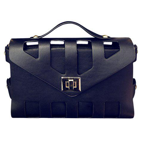 Store New Arrival PU Leather and Hasp Design Tote Bag For Women