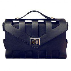 New Arrival PU Leather and Hasp Design Tote Bag For Women -