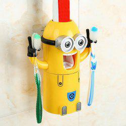 Despicable Me Automatic Toothpaste Dispenser Minion Shape Toothbrush Toothpaste Holder -