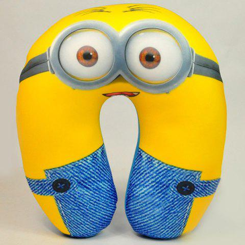 Chic Portable Cartoon Minions Nano Particle U Shape Neck Pillow 171532501