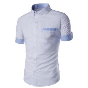 Pocket Slim Fit Short Sleeve Shirt