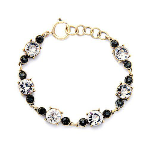 Unique Trendy Rhinestoned Simple Style Bracelet For Women