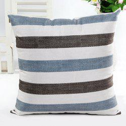 Square Shape Simple Stripe Printed Pillow Case(Without Pillow Inner)