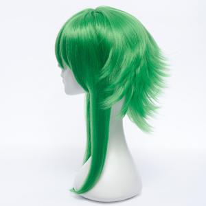 Stunning Green Medium Fluffy Straight Anti Alice Hair GUMI Costume Play Wig -