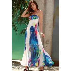 Bandeau Maxi sans bretelles Swing Beach Boho Dress