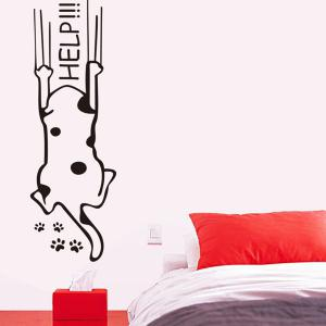 Puppy Pattern Wall Stickers For Kids Room