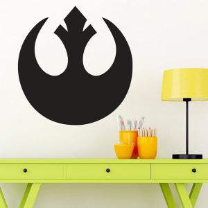 Quality Black Pattern Removeable Wall Stickers -