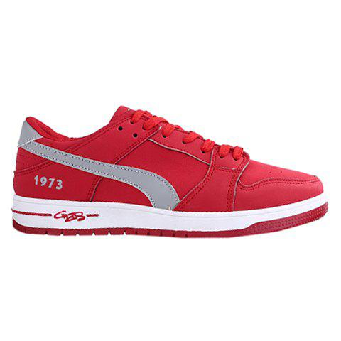 Buy Casual Lace-Up Suede Design Sneakers Men