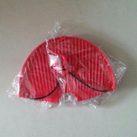 Hot High Quality Kitchen Better Strainer Portable Drain Rack Pan Kitchen Gadget - RED  Mobile