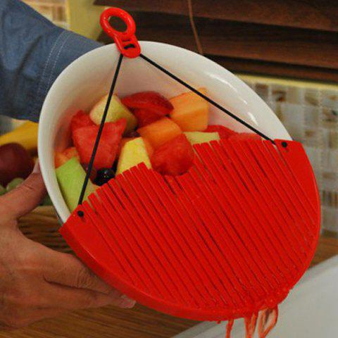 Buy High Quality Kitchen Better Strainer Portable Drain Rack Pan Kitchen Gadget - RED  Mobile