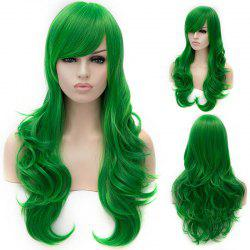 Vogue Lolita Green Long layered Shaggy Wavy Synthetic Party Wig For Women - GREEN