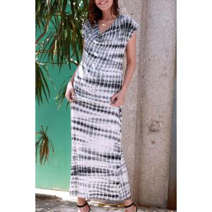 Tie Dye Tee Shirt Maxi Dress