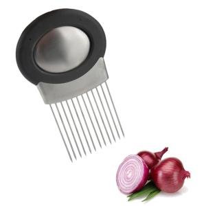 Stylish Vegetables Onion Stainless Steel Slicer Tool with Hand Soap -