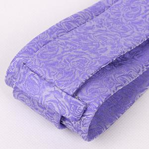 Hot Sale Retro Floral Jacquard Purple Neck Tie For Men -