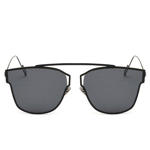 Store Chic Hollow Out Metal Frame Sunglasses For Women