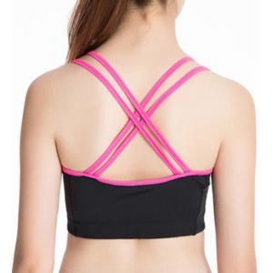 Stylish U Neck Strap Yoga Tank Top For Women -