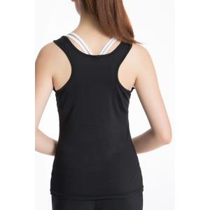 U Neck Racerback Yoga Running Tank Top -