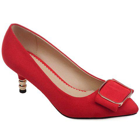 Affordable Simple Slip-On and Suede Design Pumps For Women