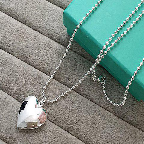 Buy Heart Alloy Pendant Necklace