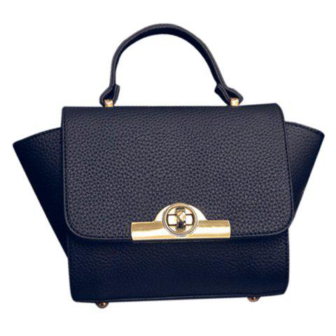 Hot Fashionable Lichee Pattern and PU Leather Design Tote Bag For Women