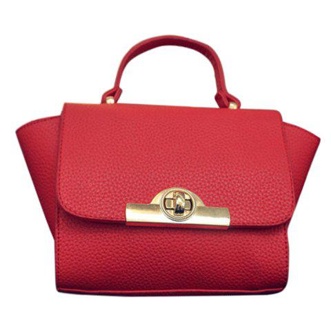 Best Fashionable Lichee Pattern and PU Leather Design Tote Bag For Women