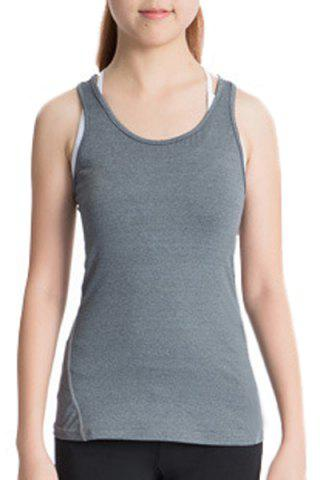 Shops Scoop Neck Racerback Yoga Running Tank Top