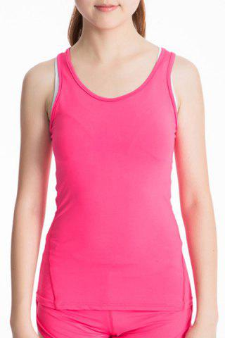 Latest Scoop Neck Racerback Yoga Running Tank Top