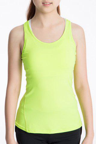 Store Scoop Neck Racerback Yoga Running Tank Top