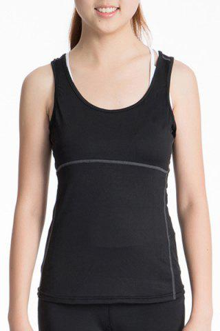 Affordable U Neck Racerback Yoga Running Tank Top