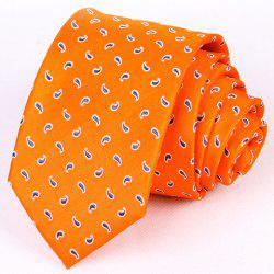 Hot Sale Stylish 7CM Width Paisley Dot Pattern Tie For Men -