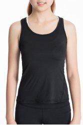 Scoop Neck Racerback Yoga Running Tank Top