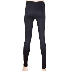 Simple Elasitc Waist Solid Color Fitted Women's Pants -