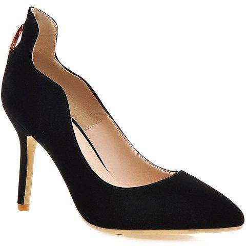 Shops Trendy Metal and Hollow Out Design Pumps For Women