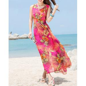Maxi Bohemian Swing Beach Dress for Summer