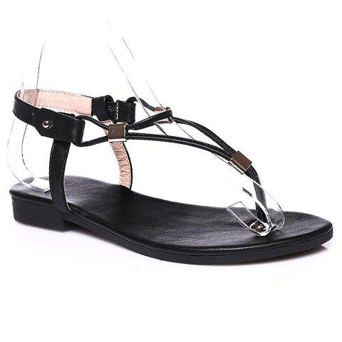 Shop Casual Solid Color and Flip Flops Design Sandals For Women