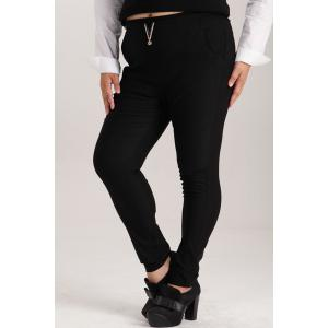 Fashionable High-Waisted Plus Size Pants For Women -