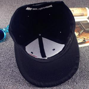 Stylish Letters and Signal Shape Embroidery Baseball Cap For Men -