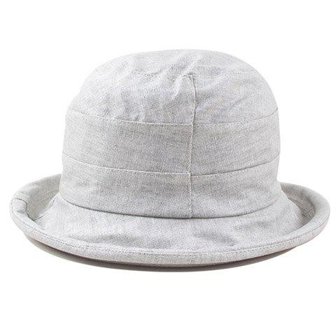 Hot Fashionable Flower Embellished Pure Color Dome Sun Hat For Women
