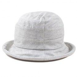 Fashionable Flower Embellished Pure Color Dome Sun Hat For Women -