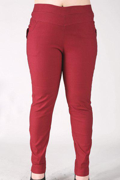 Best Fashionable High-Waisted Stretchy Plus Size Pants For Women