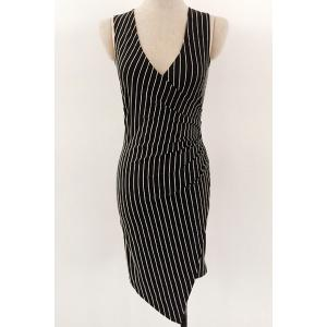 Sexy V-Neck Stripe Sleeveless Dress For Women -