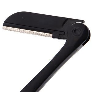 Stylish Folding Stainless Steel 3 Layers Blades Eyebrow Trimmer -