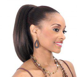 Shaggy Natural Straight Synthetic Charming Long Black Mixed Drawstring Ponytail For Women -