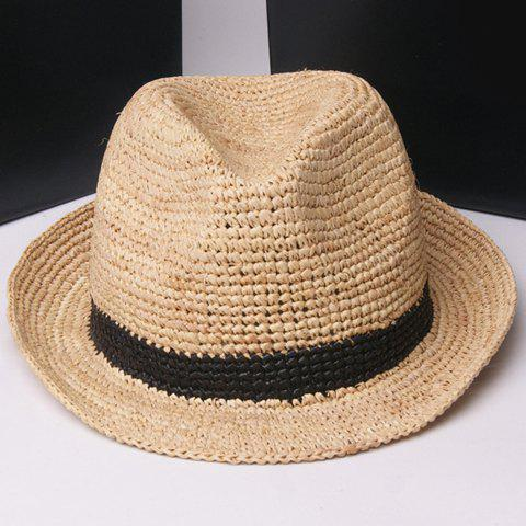 Buy Fashionable Folding Hand Made Weave Straw Hat For Women