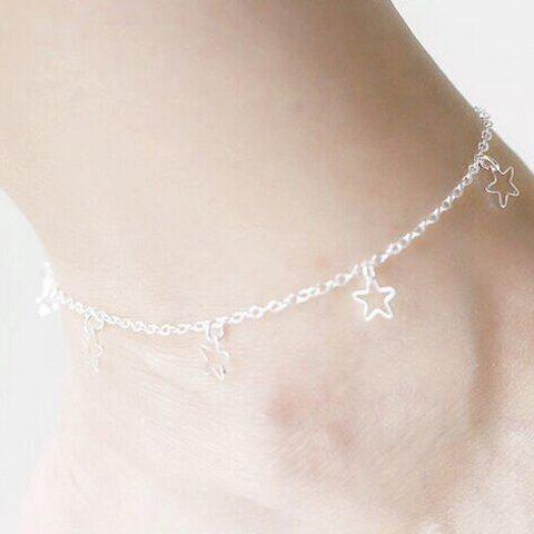 Shop Pentagram Charm Anklet -   Mobile