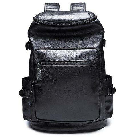 Outfits Stylish Zipper and Black Colour Design Backpack For Men
