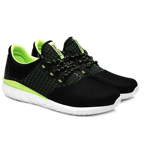 Hot Simple Color Matching and Lace-Up Design Sneakers For Men
