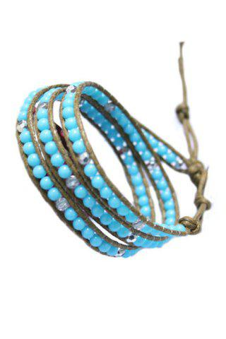 Outfits Multi-Layered Bead Wrap Bracelet