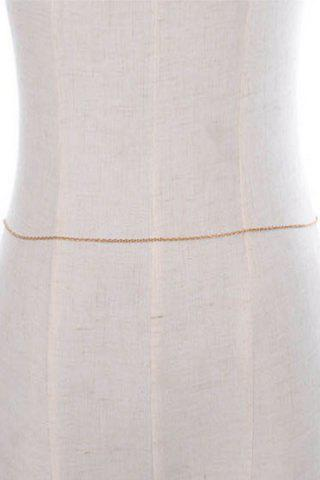 New Chic Simple Style Belly Chain For Women - GOLDEN  Mobile
